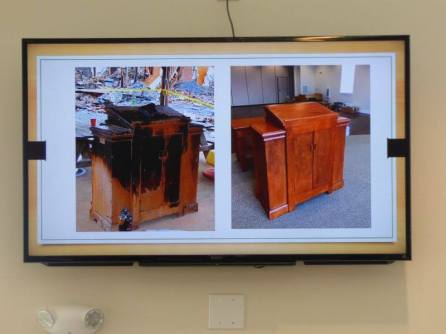 Burnt Pulpit vs. Refurbished Pulpit
